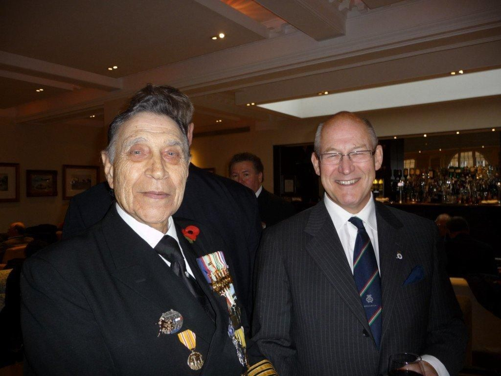 1 Lt Cdr James Wyatt2C Chairman London Branch RFA